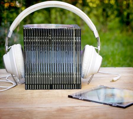 audio: Audio - listening music audio media Stockfoto