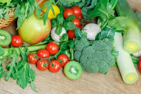 Vegetarian food - healthy diet