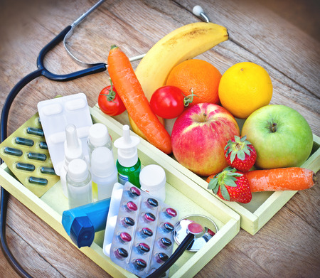 depends: Eating healthy food - Health depends on your diet