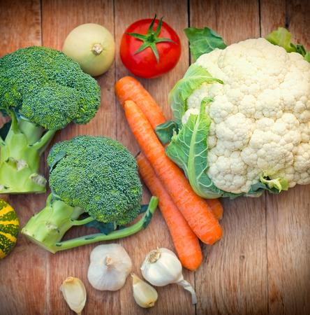 antioxidants: Healthy food - strong antioxidants Stock Photo