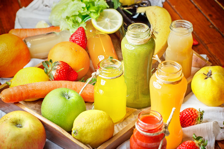 Saft Und Smoothie - Gesunde Getränke, Getränke (reich An Vitaminen ...