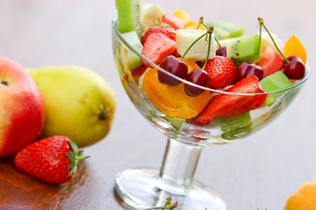 Obstsalat von Bio-Obst