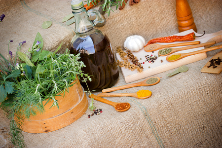 seasoning: Seasoning - dry and fresh spices