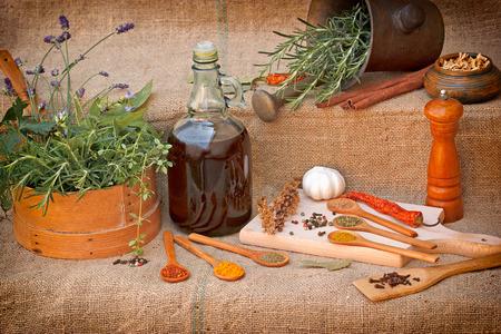 seasoning: Dry and fresh spices - seasoning