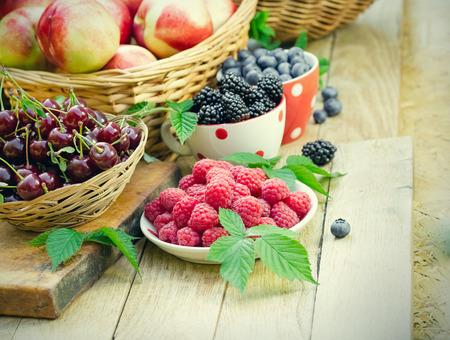 strengthening: For strengthening the immune system - healthy organic berry fruit Stock Photo