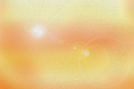 light source: Light source of solar rays (sun) and lens flare of sunlight - illustration (background)