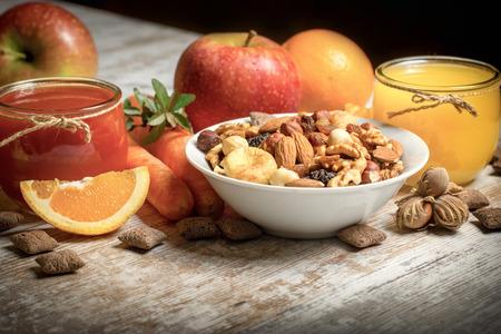 Mangiare sano - cibo sano e bevande