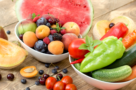 dieta saludable a base de frutas y verduras