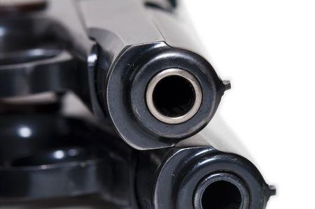 Pistolas 9 mm Foto de archivo - 2546832