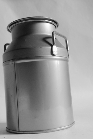 small milk can Stock Photo - 9136131