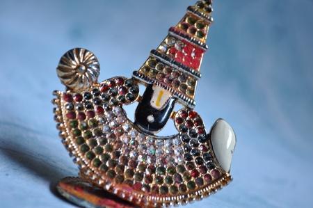 closeup of god balaji