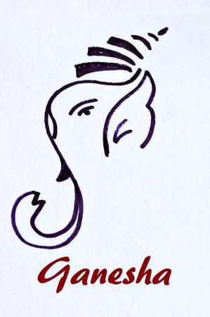 ganesha drawing photo