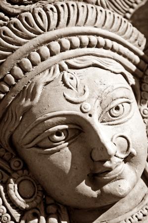 Durga devi face photo