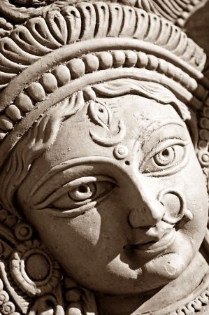 devi: Durga devi face