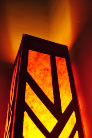 lamp shade: lamp shade Stock Photo
