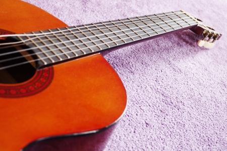 gitar: closeup of gitar,Poona,maharashtra, India Stock Photo