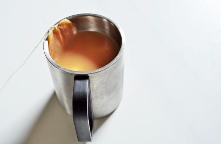 beeping: Cup of tea with tea bag ,Poona, Maharashtra, India