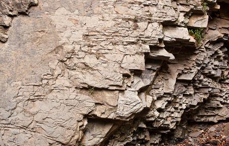 geologic: The layered rocks. Carpathians mountains, Ukraine