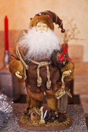 grandfather frost: Figurine of Santa Claus