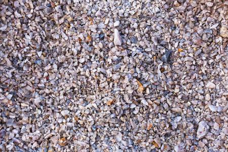 Red gravel stone floor texture background
