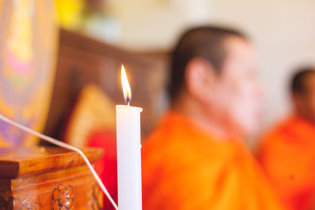 candlelight: Candlelight foreground religious ceremony