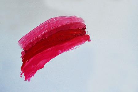 smeared: Lipstick smear