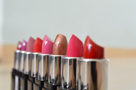 lineup: lipstick lineup