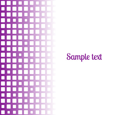 bstract square purple mosaic background