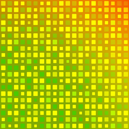 green background: Abstract square mosaic green Background