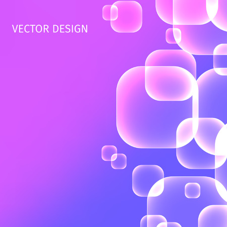 square abstract: Abstract square background. Vector illustration Illustration