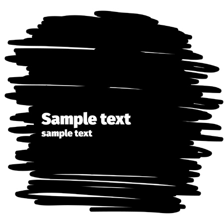 blemish: Vector black background for text.