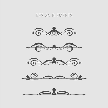 elegant design: Vintage elements.