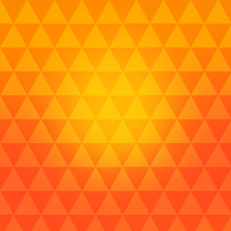 transition: The geometrical pattern of triangles. Bright color transition retro background.