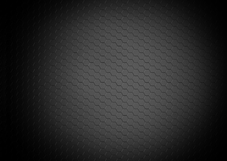 grey hexagons grid background