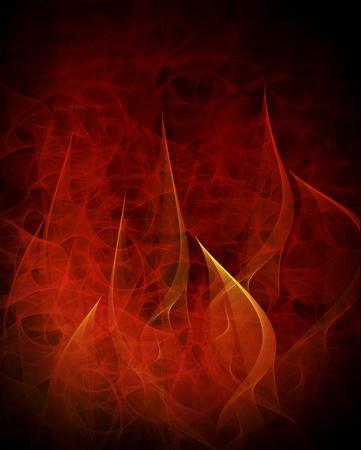 burning abstract background photo