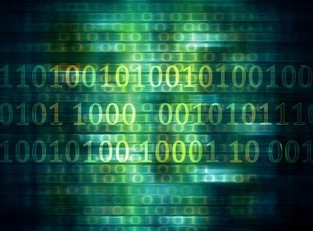 t?o internet z kodu binarnego Zdjęcie Seryjne