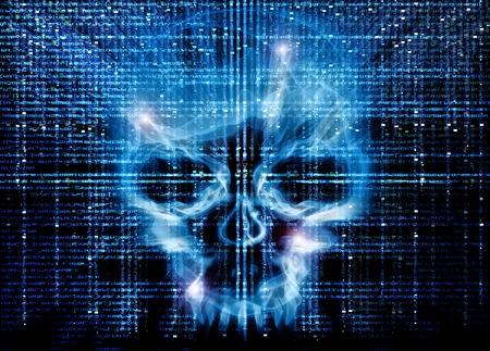 Atak haker�w w tle