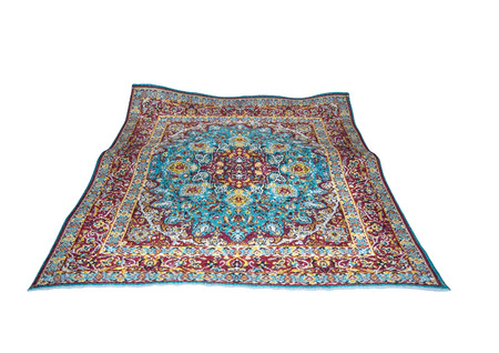 isolated turkish carpet