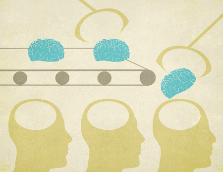 ludzkie g?owy i m�zgi sztuczna inteligencja poj?cia