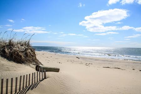 montauk: Montauk beach Stock Photo