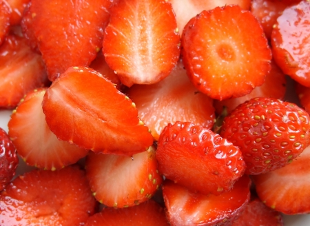 many a ripe strawberry