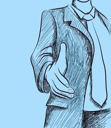 handshake Иллюстрация