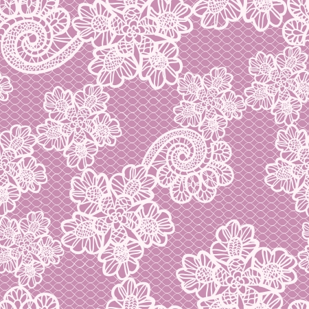 lace pattern: seamless lace pattern Illustration