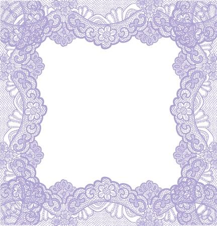 violet lace Vector