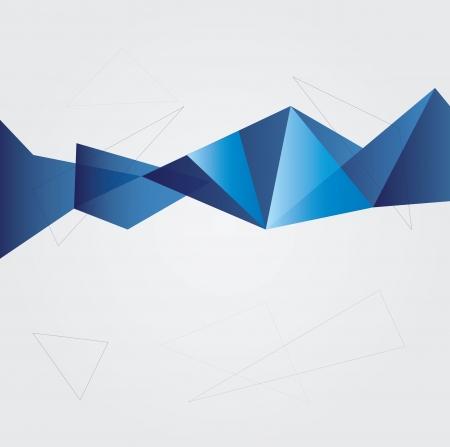 personalausweis: Abstrakter geometrischer Hintergrund Illustration