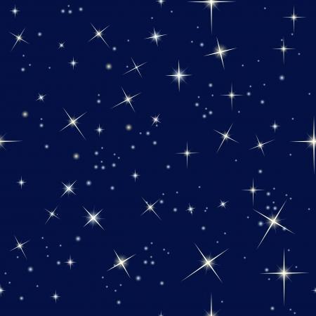 Cielo nocturno y las estrellas Foto de archivo - 19892079