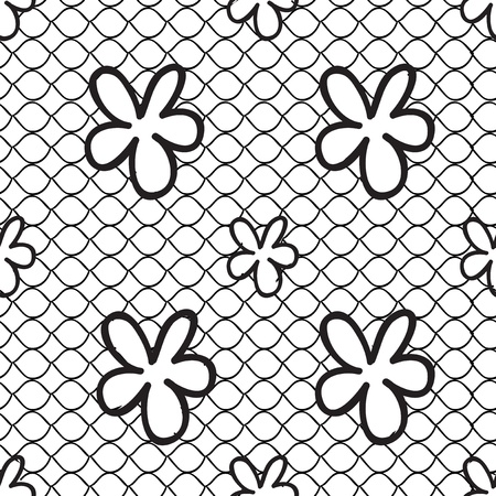 seamless lace pattern Stock Vector - 21454117