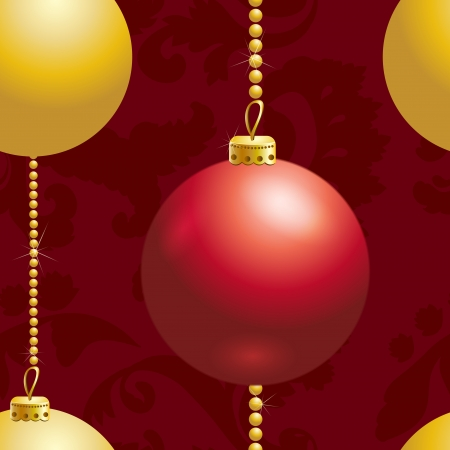 seamless chtistmas background Vector