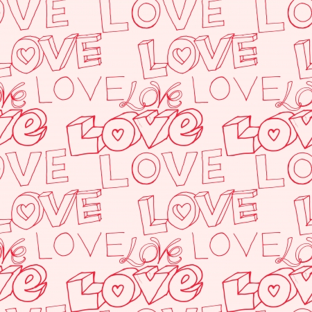 words i love you on pink