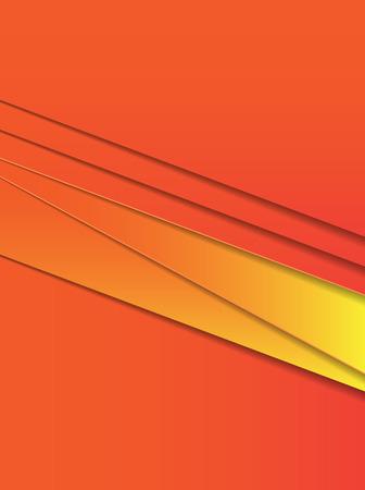 orange geometric background Illustration